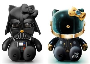 Hello Kitty en Darth Vador et Daft Punk Vader