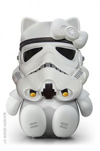Hello Kitty en Storm Trooper Star Wars