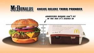 McDonald's Venez comme vous êtes big mac réalité