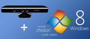 Avec Windows 8, fini le clavier kinect xbox microsoft chidori nom de code