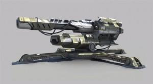 Planetside 2 Weapon Concept Art by Roel Jovellano arme jeux vidéo