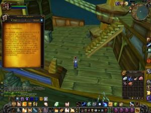 World of Warcraft augmente fonctions cognitives ingénieur gnome quête cabestan
