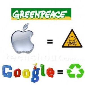 greenpeace troll apple ecologie