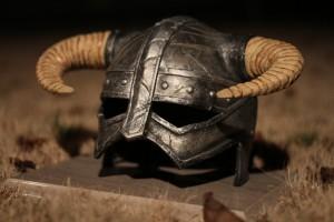 Réplique du casque de Skyrim l'enfant du Dragon casque de dovakhiin