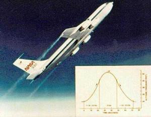vomit comet de la nasa pour simuler l'apesanteur KC-135A