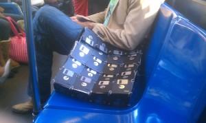 un sac en disquette diskette