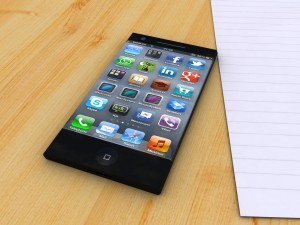 Concept d'iPhone 5 avec écran flexible Apple