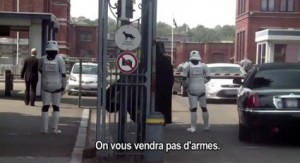 Dark Vador pour Amnesty International vente arme