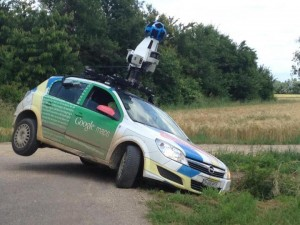 carte google pas a jour voiture car accident crash camera street view