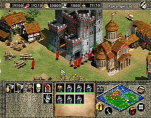 Age of Empire 2 chateau teuton