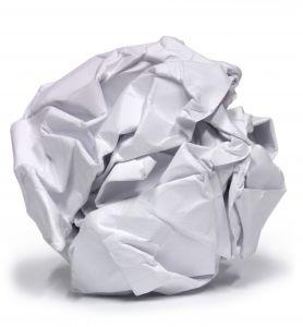 La poubelle intelligente printf - Boulette papier mariage ...