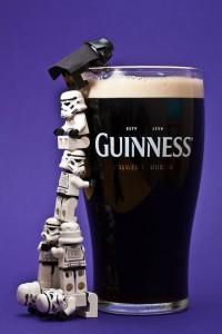 dark vador est irlandais et bois de la guinness star wars stormtrooper