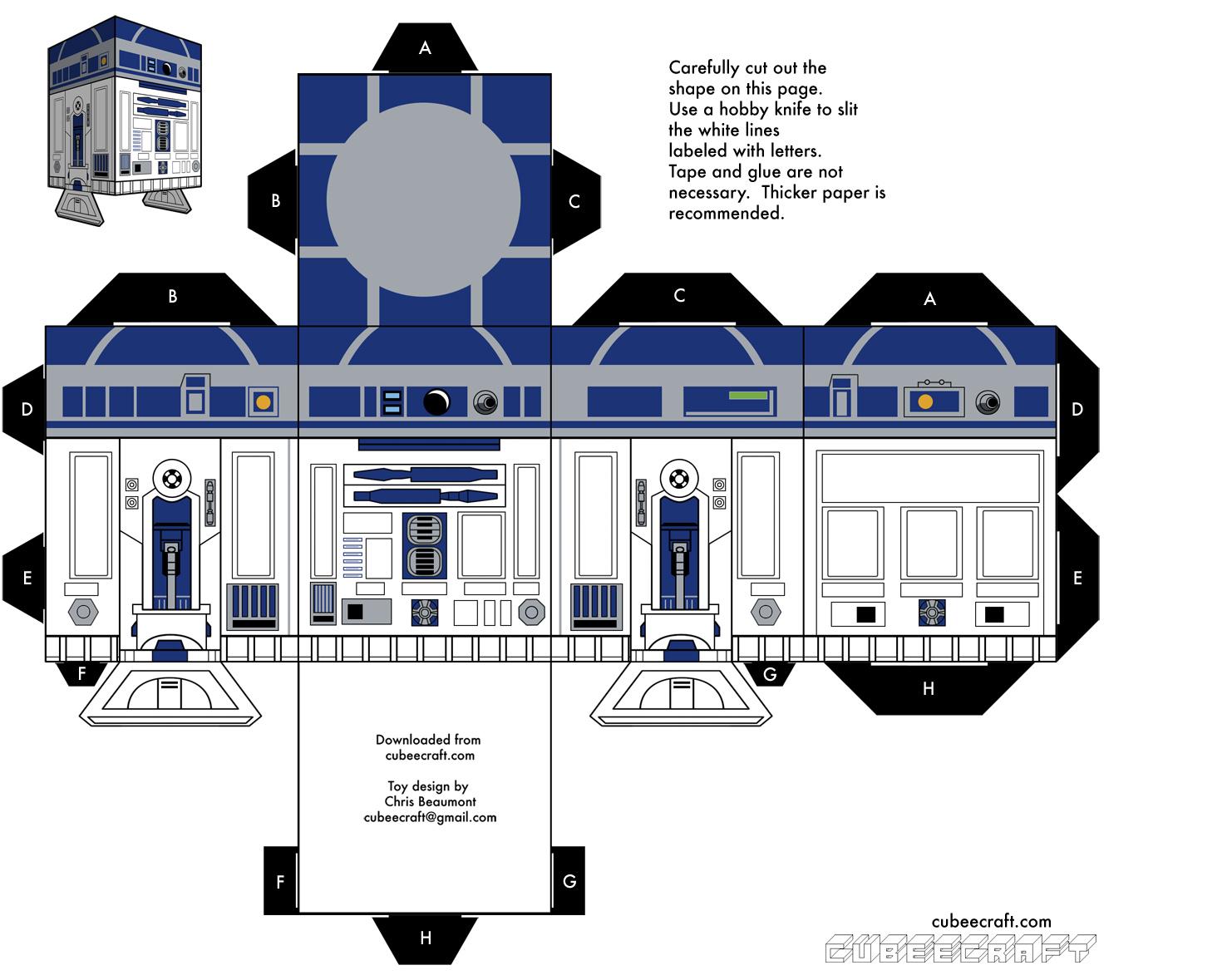 faire un r2d2 soit m me avec un f t de bi re printf. Black Bedroom Furniture Sets. Home Design Ideas