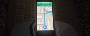 Batman et Apple maps dans the Dark knight iphone troll parodie film