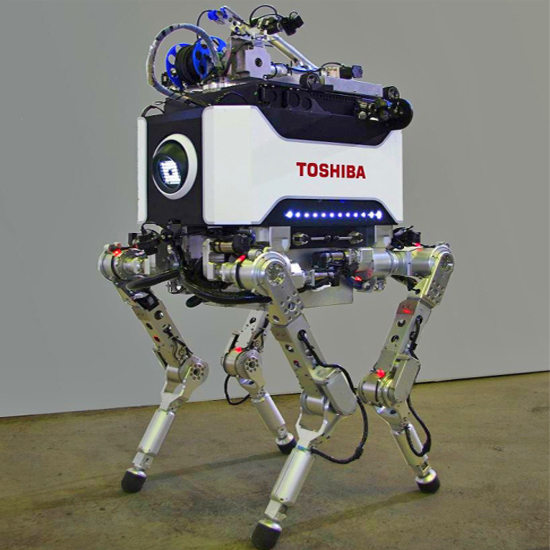 Un robot toshiba pour faire face aux situations d urgence nucl aire printf - Robot pour faire soupe ...