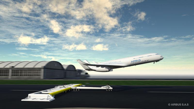 catapulte pour avions airbus