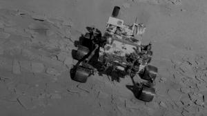 Robot Curiosity sur Mars en vidéo et en musique