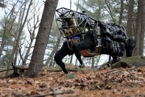 Des mules robotiques pour remplacer les vraies LS3 AlphaDog