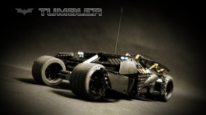 La batmobile, battank, le tumbler de batman voiture en lego