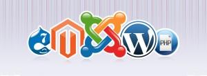 magento wordpress drupal joomla php cms blog choix