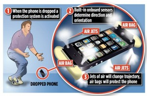un concept d'airbag pour iphone 6 apple