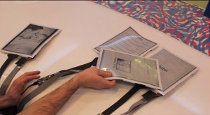 La PaperTab une tablette tactile fine et flexible papier