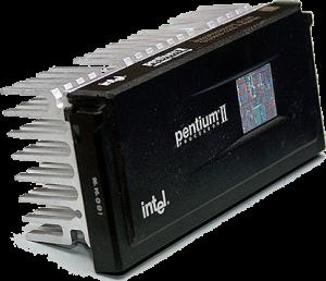 Intel Pentium II 2 transistor