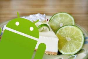 Android 5 0-Key-Lime-Pie tarte citron