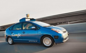 google car voiture sans conducteur