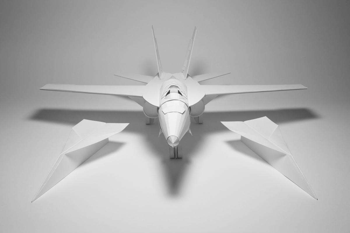 comment faire un avion en papier qui vole ind finiment ou presque printf. Black Bedroom Furniture Sets. Home Design Ideas