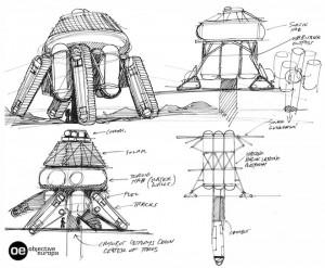 objective europa mission dessin concept