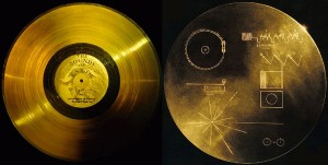 voyager 1 disque or