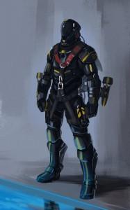 reacteur iron man sous marin Jet-Pack System x2 concept