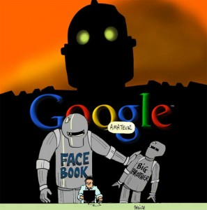 Facebook Big-Brother Google- Internet web espionnage vie prive