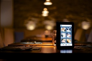 tablette restaurant smartphone