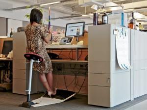 bureau debout ordinateur