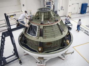 capsule orion mars