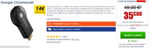 chromecast 49 euros