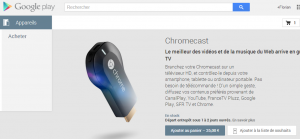 chromecast play store