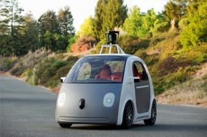 nouvelle voiture autonome sans pilote google