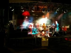 Fête de ma musique Voiron reggae scène backstage