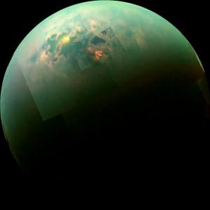lune de saturne titan photo cassini