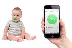 pacifi sucette bebe connecte android