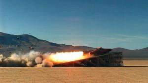 mythbuster rocket car voiture fusée
