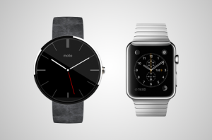 Android-Wear-apple-iWatch