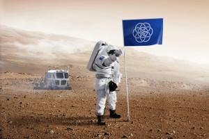drapeau terre planete nasa