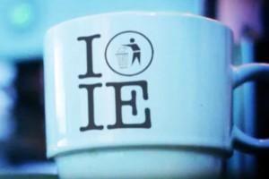i love internet explorer ie troll humour tasse cafe