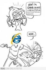 i love internet explorer ie troll humour tasse non