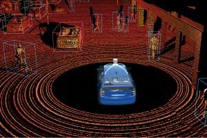 lidar voiture autonome capteur laser