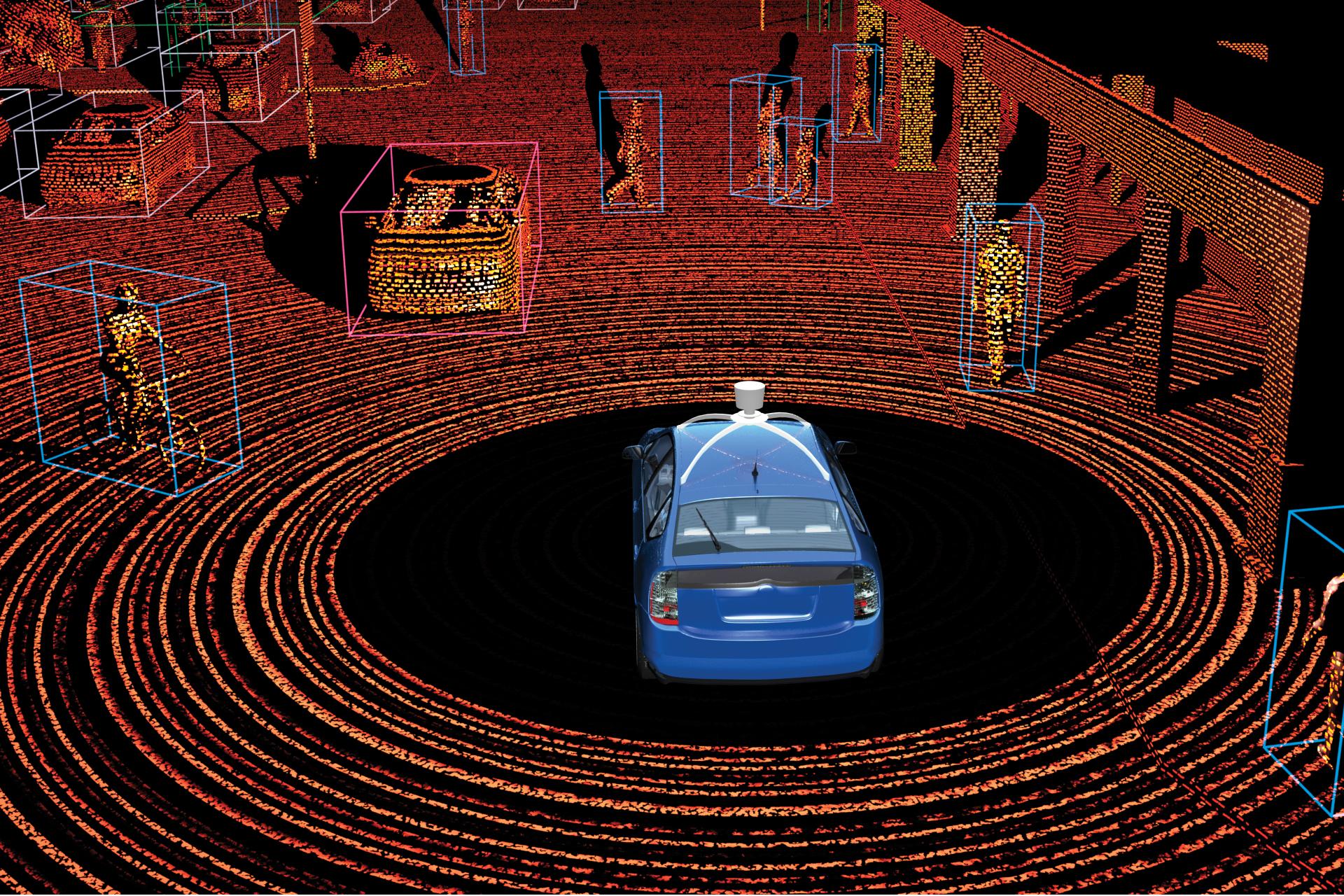 les voitures autonomes peuvent tre pirat es par un simple raspberry pi et un rayon laser printf. Black Bedroom Furniture Sets. Home Design Ideas
